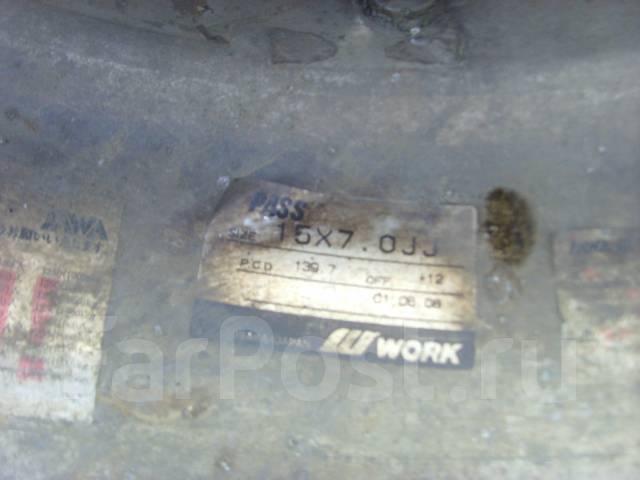 Work. 7.0x15, 6x139.70, ET12, ЦО 108,1мм. Под заказ