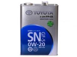 Toyota. Вязкость 0W-20, синтетическое. Под заказ
