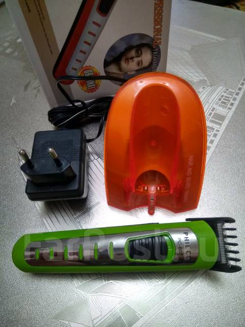 Отличный беспроводной триммер для волос и бороды Philco. C рубля! : )