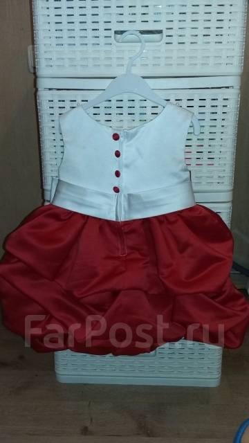 Платья. Рост: 80-86, 86-98 см