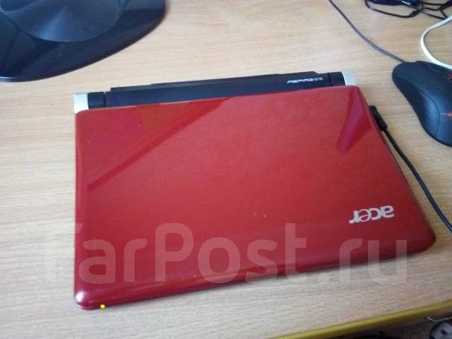 "Acer Aspire One. 10.1"", 1,6 ГГц, ОЗУ 2048 Мб, диск 160 Гб, WiFi, Bluetooth, аккумулятор на 5 ч."