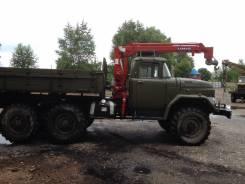 ЗИЛ. Продаётся грузовик Зил с крановой установкой, 4 500 куб. см., 6 000 кг.