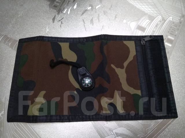 Брутальный тактический бумажник! С рубля! Подарки : )