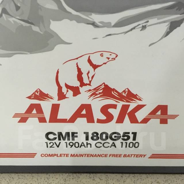 Alaska. 190 А.ч., Обратная (левое), производство Япония