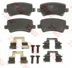 Колодки задние FORD GALAXY II, S-MAX, VOLVO S60 II, S80 II, XC70 II GDB1685