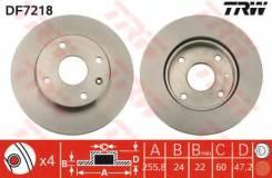 Диск тормозной передний CHEVROLET LACETTI DF7218