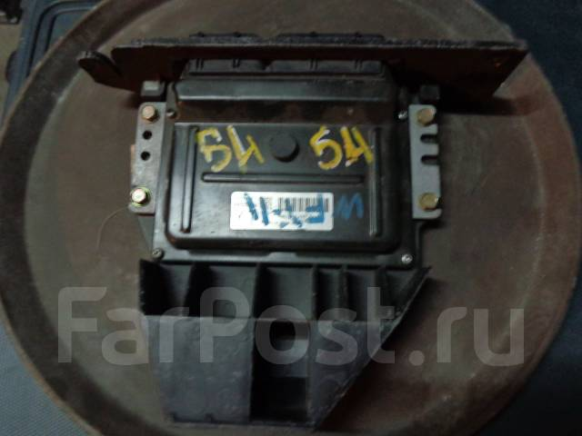 Блок управления. Nissan Wingroad, WHNY11 Двигатель QG18DE