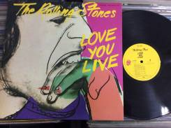 Роллинг Стоунз / Rolling Stones - LOVE YOU LIVE - JP 2LP 1977