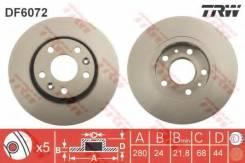 Диск тормозной передний RENAULT DUSTER (+ESP), FLUENCE, MEGANE III DF6072
