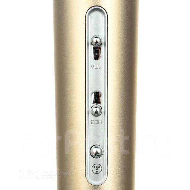 Беспроводной микрофон караоке Bluetooth блютуз k068