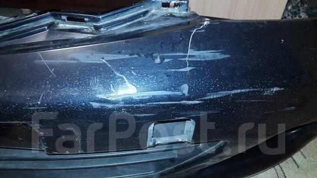 Бампер. Nissan Tiida, C11 Двигатель HR15DE