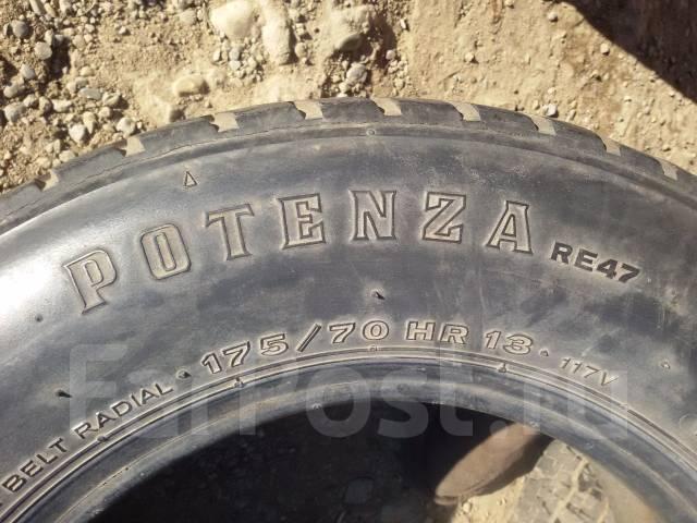 Bridgestone Potenza RE88. Летние, 2009 год, износ: 20%, 1 шт