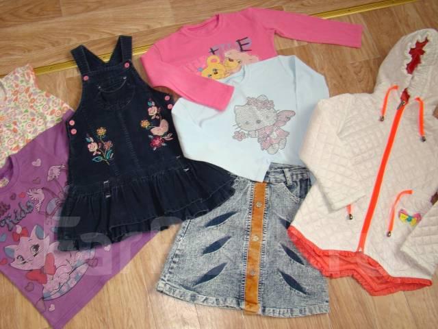 Лот отличных вещей для девочки, рост 104-116см. Рост: 104-110, 110-116 см