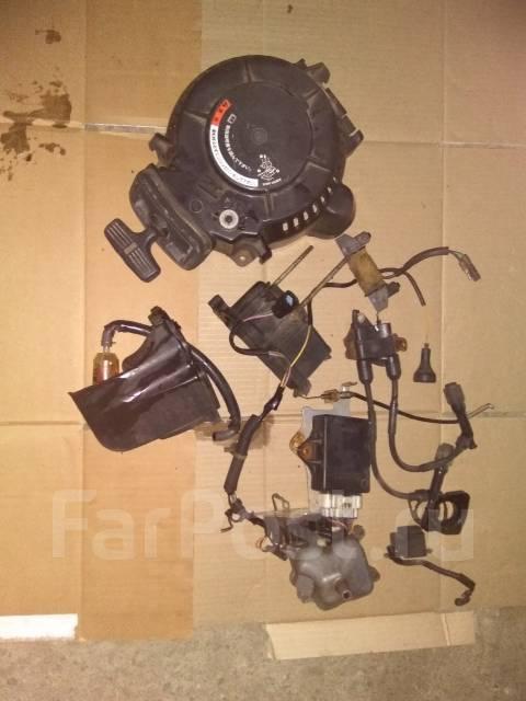 Honda. 15,00л.с., 4х тактный, бензин, нога L (508 мм), Год: 2003 год