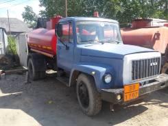 ГАЗ 3307. Бензовоз ГАЗ-3307, 1 992 куб. см., 5,00куб. м.