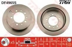 Диск тормозной задний TOYOTA LAND CRUISER 200, LEXUS LX570 DF4965S