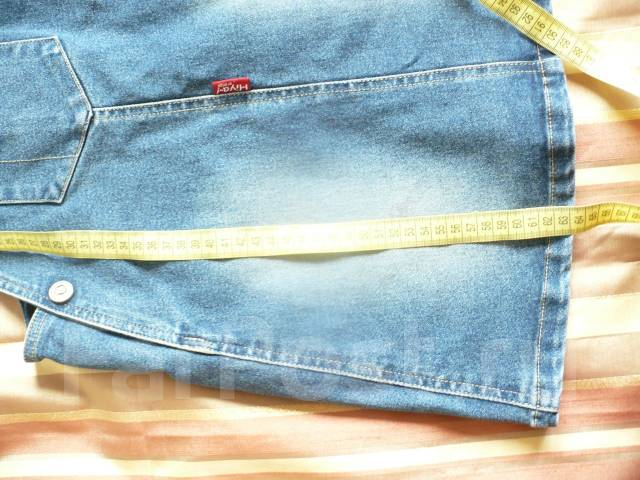 Сарафаны джинсовые. Рост: 116-122, 122-128 см