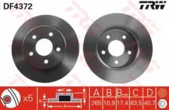 Диск тормозной задний FORD FOCUS II DF4372
