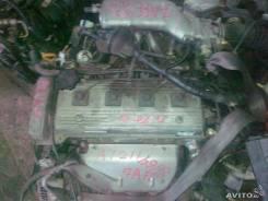 Двигатель в сборе. Toyota Corona Premio Двигатель 7AFE