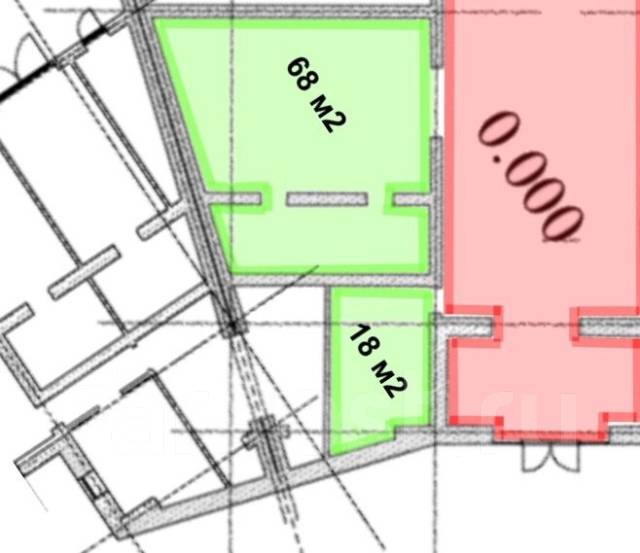 Сдам в аренду от 10 до 200 кв. м. нежилое встроенное помещение. 10 кв.м., Льва толстого 16, р-н Центральный. План помещения