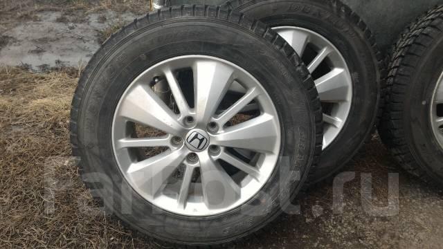 Продам Шины Dunlop Grandtrek SJ6 с оригинальным литьём от Хонды CR-V. 6.5x17 5x114.30 ET50
