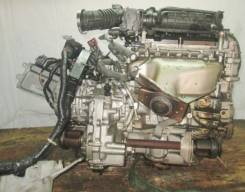 Двигатель с КПП, Nissan MR18