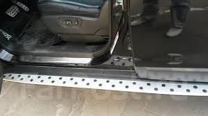 Накладка на подножку. Daewoo Winstorm Opel Antara Chevrolet Captiva