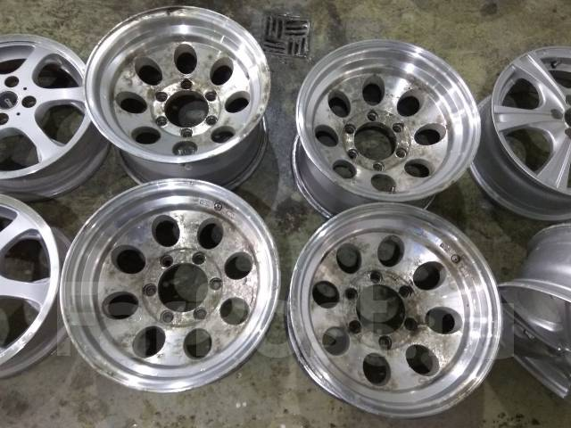 Mickey Thompson. 8.0x15, 6x139.70, ET-28, ЦО 110,0 мм.