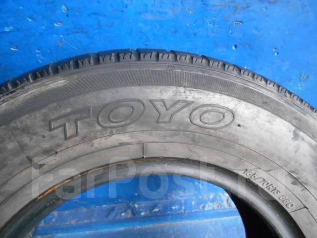 Toyo. Всесезонные, износ: 80%, 2 шт
