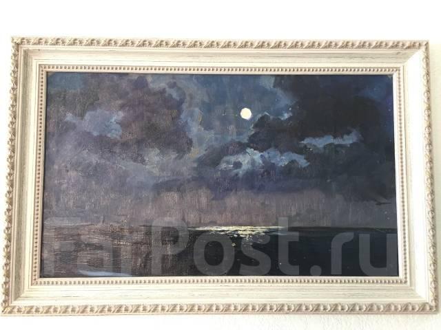 """Продам картину """"Oкеан"""" При луне 1961г., автора И. В. Рыбачук"""