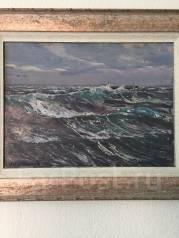 """Продам картину """"Тихий Океан"""" 1983г., автора И. В. Рыбачук"""