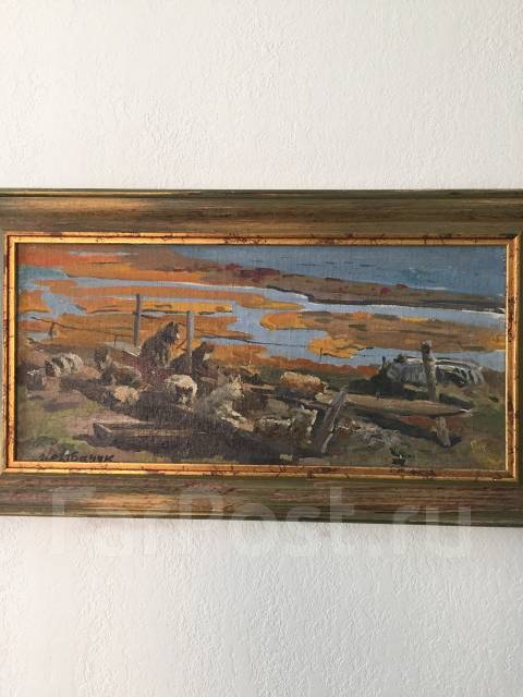 """Продам картину """"Марта Лорино""""1961г., автора И. В. Рыбачук"""