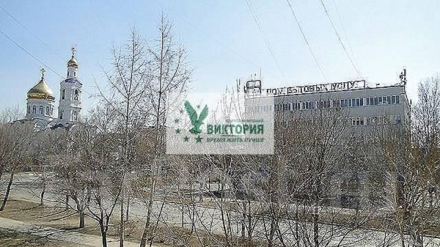 3-комнатная, улица Кирова 25. центр, агентство, 60 кв.м. Вид из окна днем