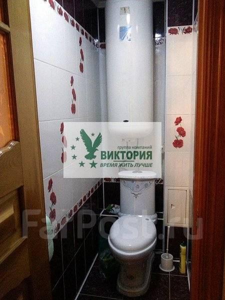 3-комнатная, улица Кирова 25. центр, агентство, 60 кв.м. Сан. узел