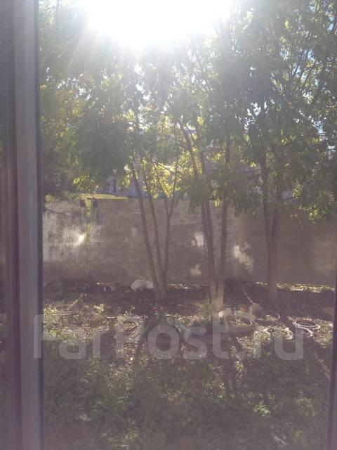1-комнатная, улица Воронежская 31. Двойка, 32 кв.м. Вид из окна днем