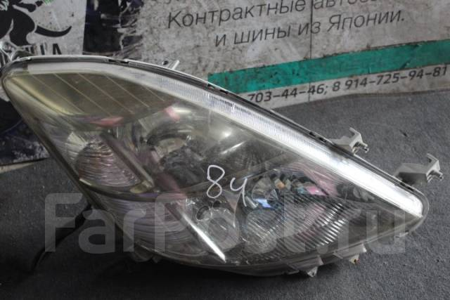 Фара. Toyota Isis, ANM10, ANM10G, ANM10W, ANM15