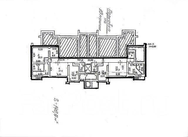 Продается помещение , 141 кв. м., по ул. Прапорщика Комарова 27. Улица Прапорщика Комарова 27, р-н Центр, 141 кв.м. План помещения