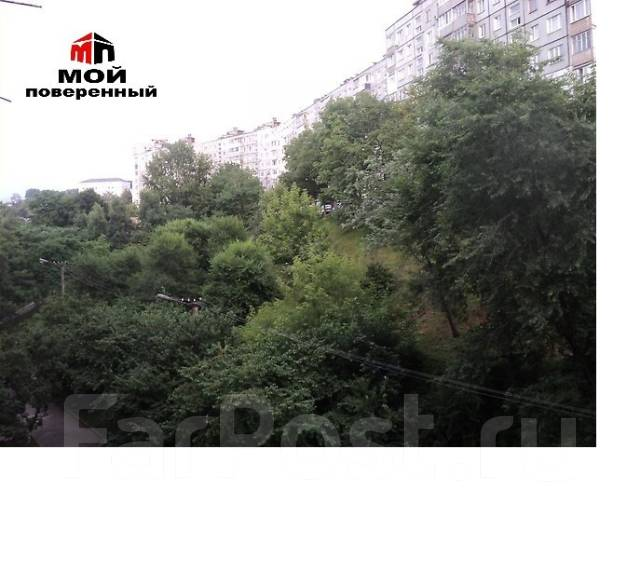 1-комнатная, улица Карбышева 28. БАМ, агентство, 35 кв.м. Вид из окна днём