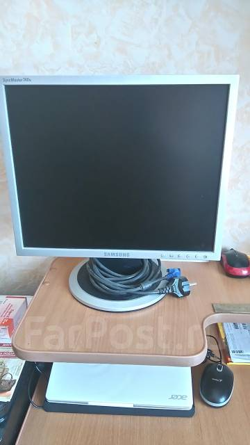 "Samsung SyncMaster 740N. 17"" (43 см), технология LCD (ЖК)"