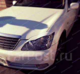 Накладка на фару. Toyota Crown, GRS184, GRS183, GRS182, GRS180, GRS181