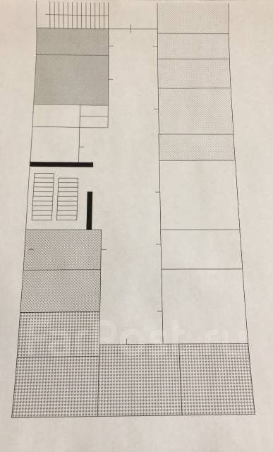 Сдаются помещения от собственника 330 руб. м. кв. Улица Лазо 11, р-н Центр, 33 кв.м., цена указана за квадратный метр в месяц. План помещения