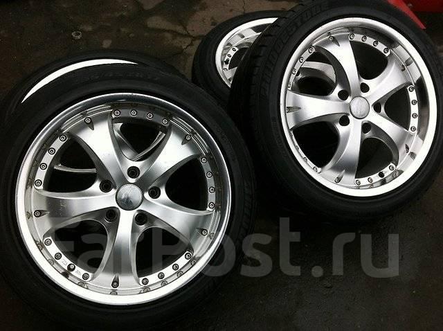 Продам колёса. 8.0x17 3x98.00, 5x114.30 ET35