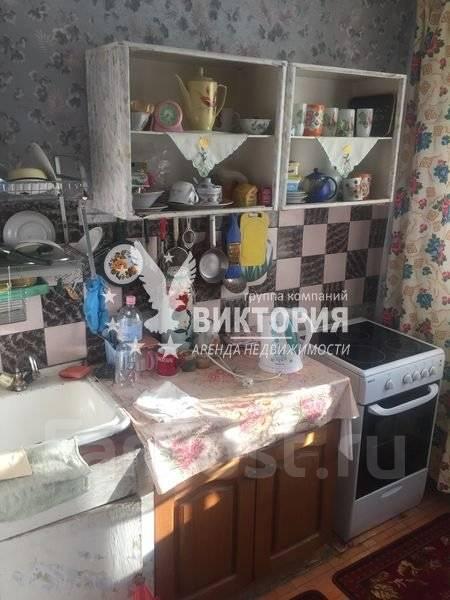 1-комнатная, улица Карбышева 12. БАМ, агентство, 32 кв.м. Кухня