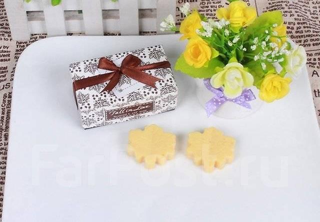 Мыло подарочное в коробочке 2 шт одним одним лотом