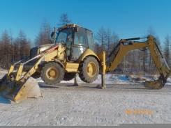 Caterpillar 428E. Продам погрузчик CAT 428E, 1 000 куб. см., 1,10куб. м.