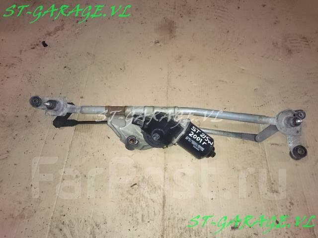 Трапеция дворников. Toyota Caldina, ST215, AT211, ST210, CT216 Двигатели: 7AFE, 3SGTE, 3CTE, 3SGE, 3SFE