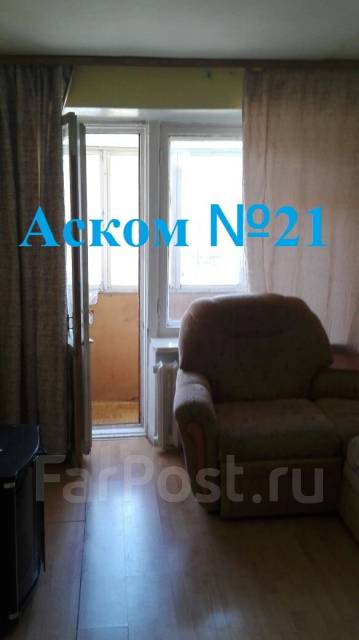 1-комнатная, улица Черемуховая 18а. Чуркин, агентство, 32 кв.м.