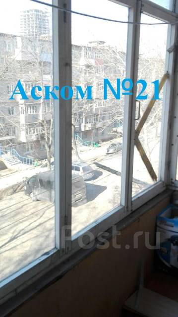 1-комнатная, улица Черемуховая 18а. Чуркин, агентство, 32 кв.м. Вид из окна днём