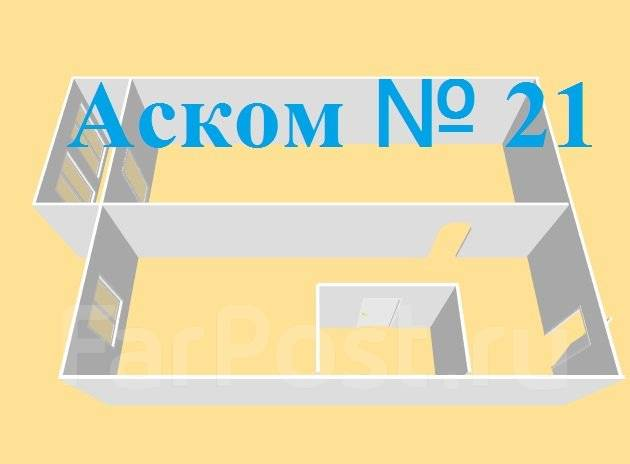 1-комнатная, улица Черемуховая 18а. Чуркин, агентство, 32 кв.м. План квартиры