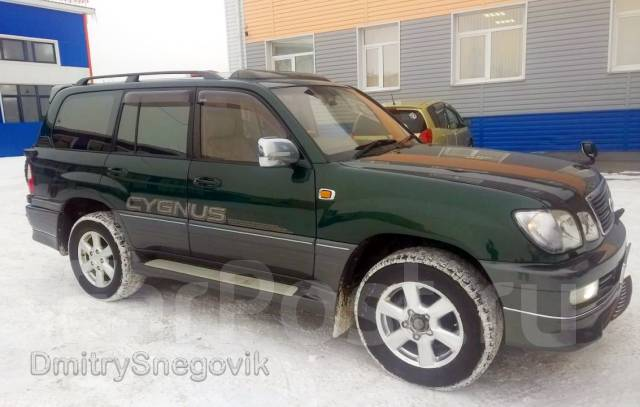 Наклейка. Toyota Land Cruiser Cygnus